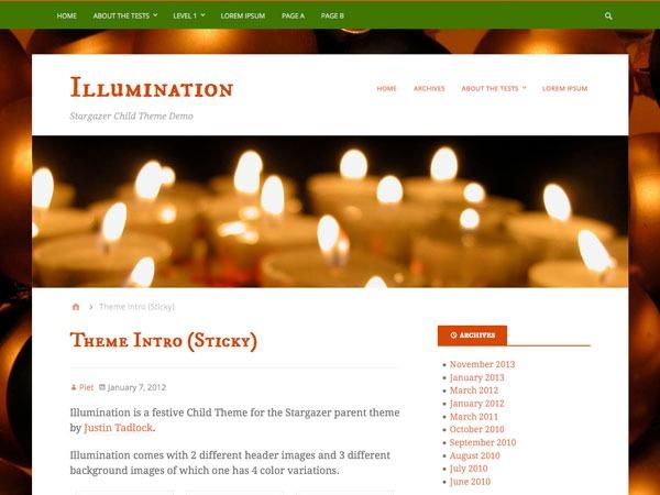 Theme WordPress Illumination