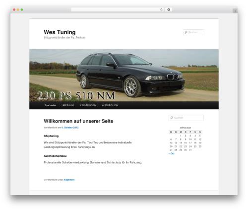 Twenty Eleven WordPress theme free download - wes-tuning.de