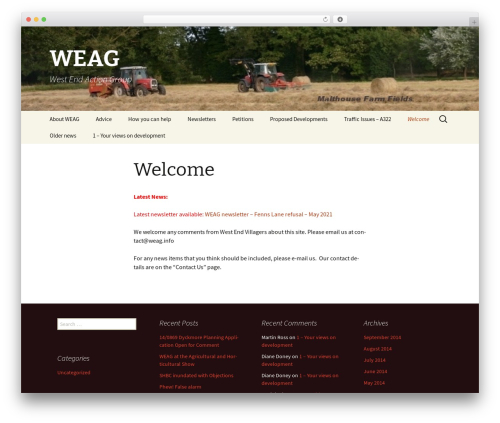 Twenty Thirteen WordPress theme free download - weag.info