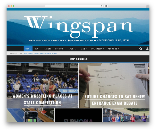 Valenti WordPress theme - wingspanonline.net