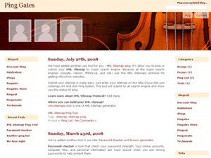 Violinesth Forever top WordPress theme