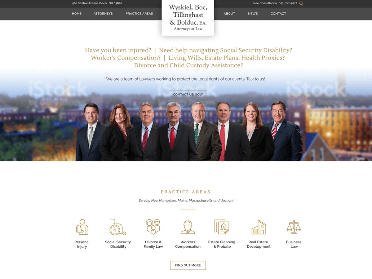 wbtlaw.com WordPress theme
