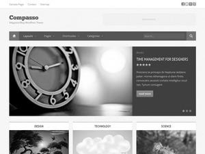 WordPress template Compasso Child Theme