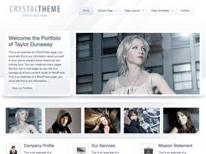 WordPress theme Crystal Child Theme