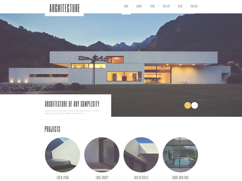 WP template theme50604