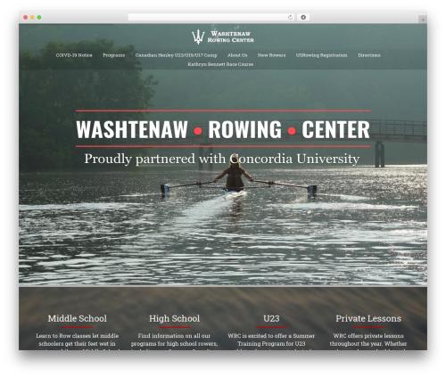 WP theme AllStar - washtenawrowingcenter.com