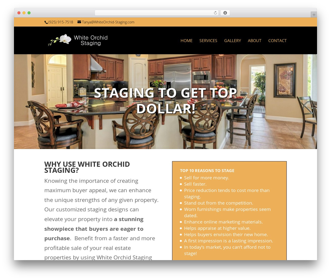 WP theme Divi - whiteorchid-staging.com