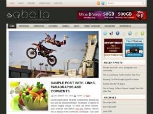 Abelia WordPress theme
