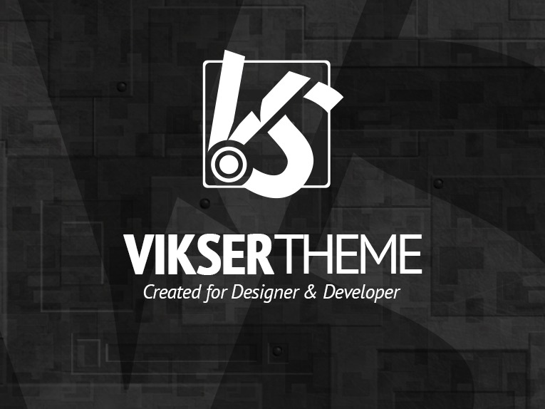 Best WordPress template VIKSER