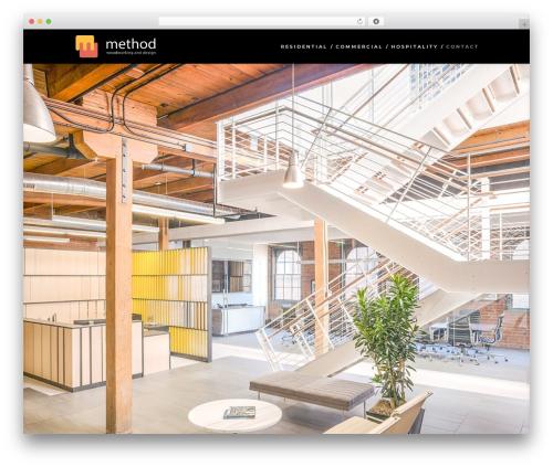 Divi WordPress hotel theme - methodwoodworking.com