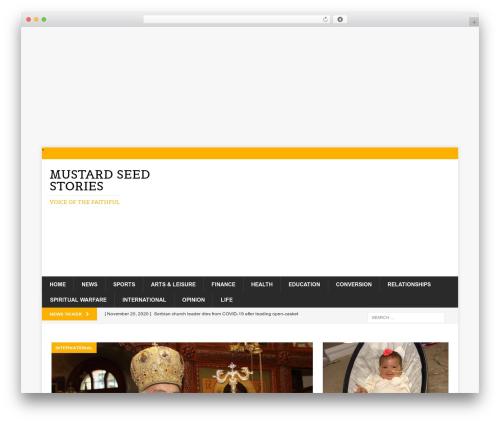 Free WordPress Top 10  – Popular posts plugin for WordPress plugin - mustardseedstories.com