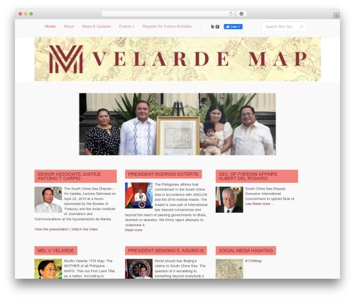 Template WordPress Lucid Child - murillovelardemap.com