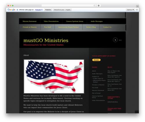 Theme WordPress Piano Black - mustgo.org
