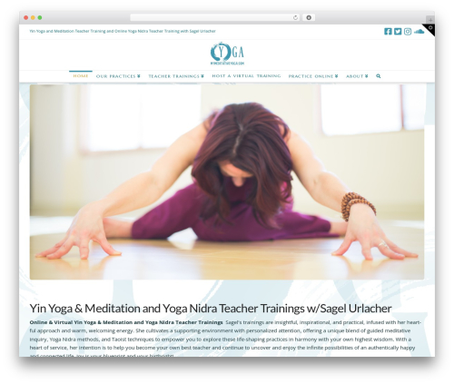 Theme WordPress X - mymeditativeyoga.com