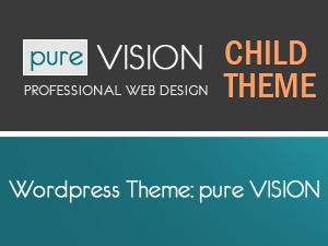 WordPress theme pureVISION Child