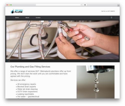 WordPress callout-bar plugin - metroplumb.com.au