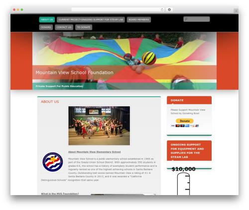 WordPress theme Wallpapered - mvsfoundation.org