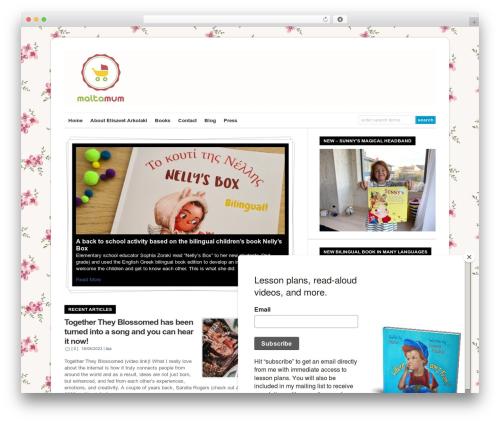 WP-Ellie WP theme - maltamum.com
