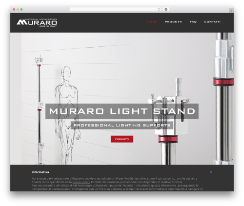 WP template Avada - murarolightstand.com