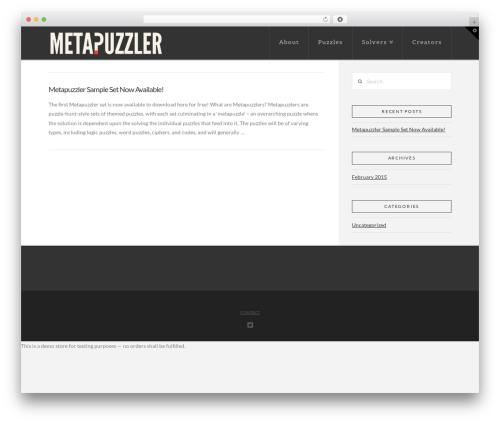 WordPress x-shortcodes plugin - metapuzzler.com