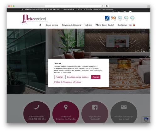 WordPress cmsmasters-mega-menu plugin - metroradical.com