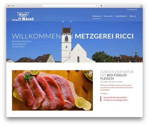 Enfold WordPress template - metzgerei-ricci.ch