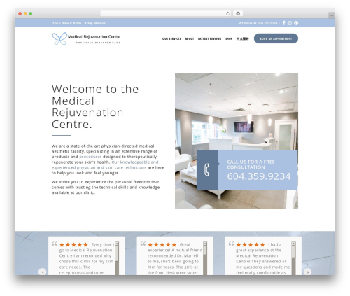 Isida medical WordPress theme - mrcbc.com