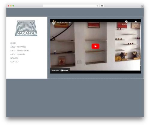LeftSide WordPress theme free download - makanne.dk