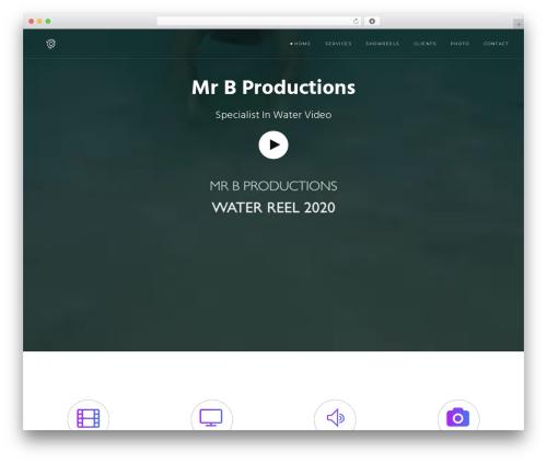 Modular WordPress movie theme - mrbproductions.co.uk