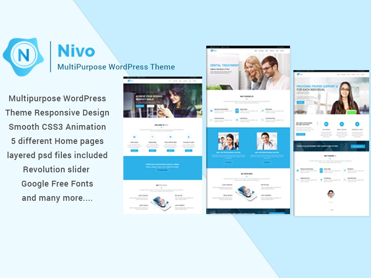 Nivo WordPress theme
