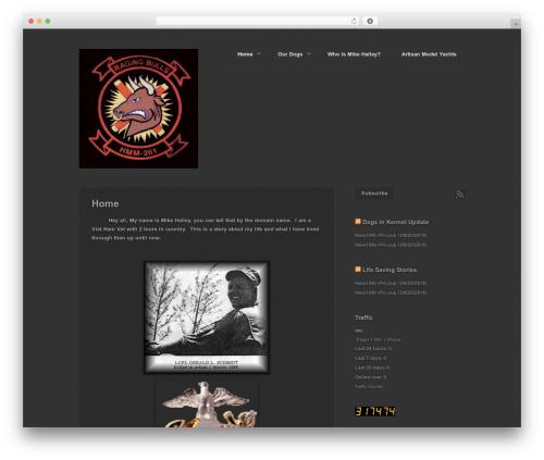 Photography PRO theme WordPress - mikehalley.com/blog