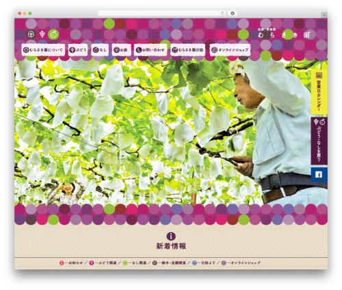 Pinboard WordPress template - murasakien.com
