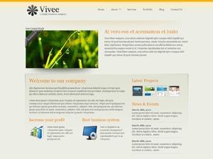 Template WordPress Vivee Orange