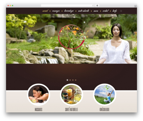 theme1957 massage WordPress theme - massagesrelaxation.be