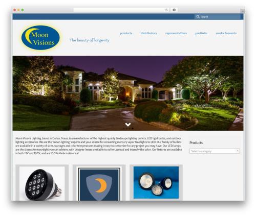 Free WordPress Sidebar Menu Widget plugin - moonvisionslighting.com