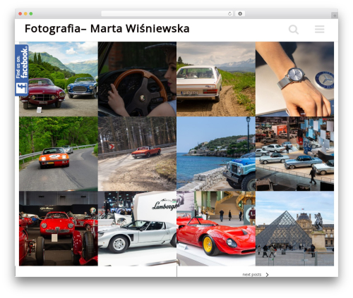 WordPress theme Beautiful - mwpictures.pl