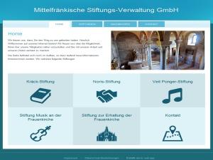 WordPress website template MFR