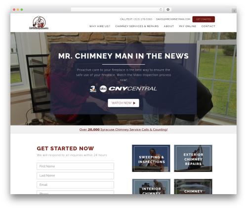 WP template Class - mrchimneyman.com