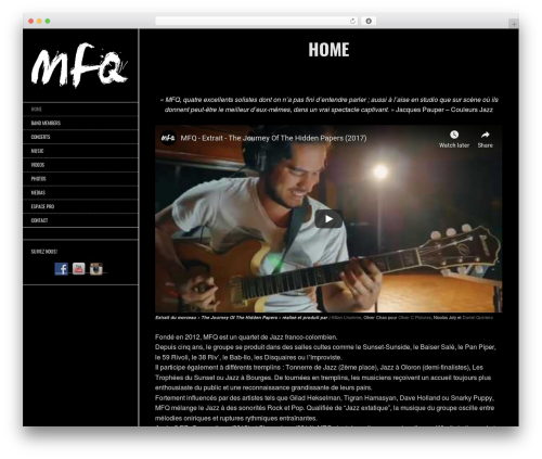 WP template Other - mfq-music.com