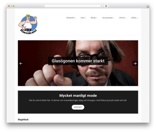 Best WordPress template Vimes - mansidealet.se