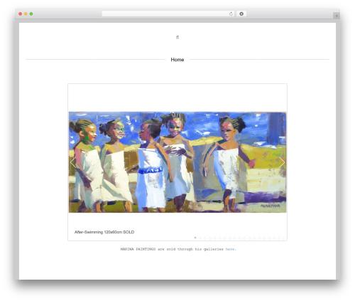 Centreal theme WordPress - makiwamutomba.com