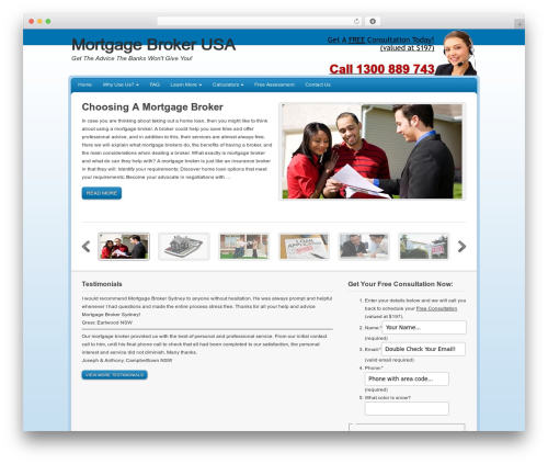 Free WordPress My Quicktags plugin - mortgagebrokerusa.com