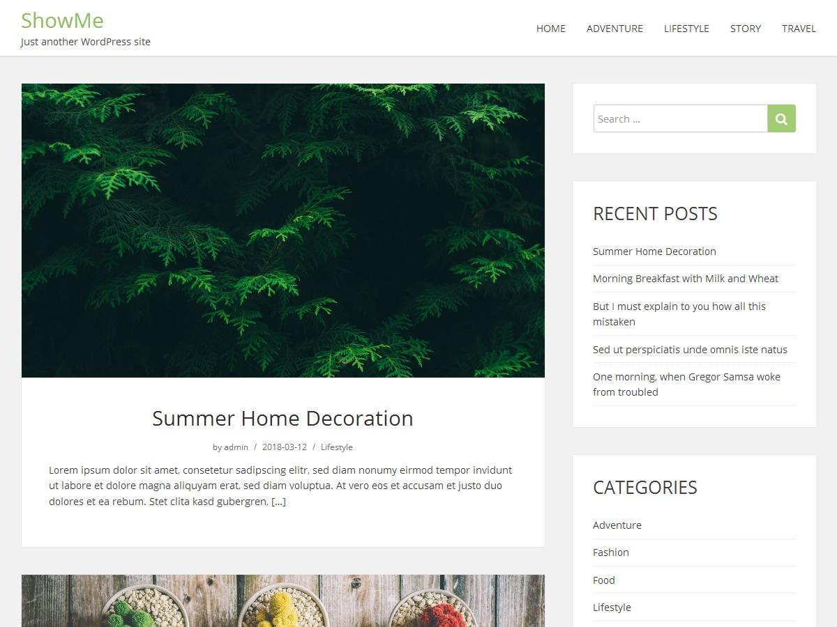 i-ditie WordPress blog theme