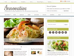 Innovative Child Theme WordPress theme design