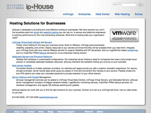 ipHouse Olympus WordPress website template