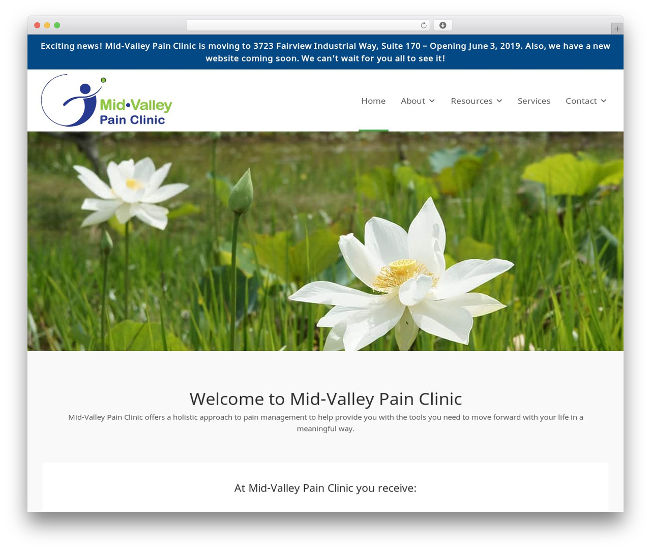 Jump Start WordPress theme - mvpclinic.com