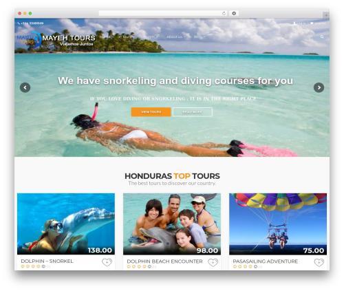 WordPress sliderpro plugin - mayehtours.com