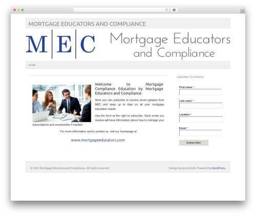 picolight template WordPress - mortgagecompliance.education