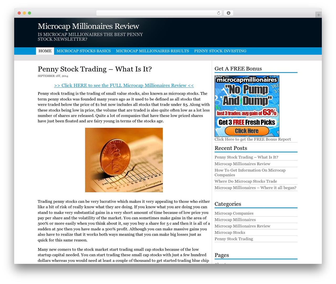 penny stock millionaire review