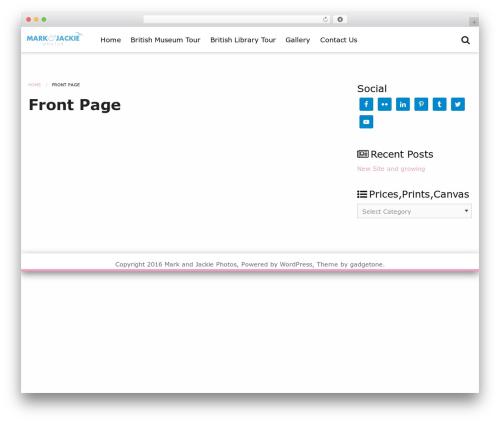 Tokimeki WordPress template free - markandjackiephotos.com